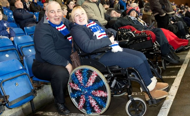 #BeInspired: Disabled Sports Fans: The Goals of Stadium Access