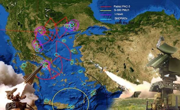 Το δυνάμει φονικό δίχτυ της Ελλάδας στο Αιγαίο