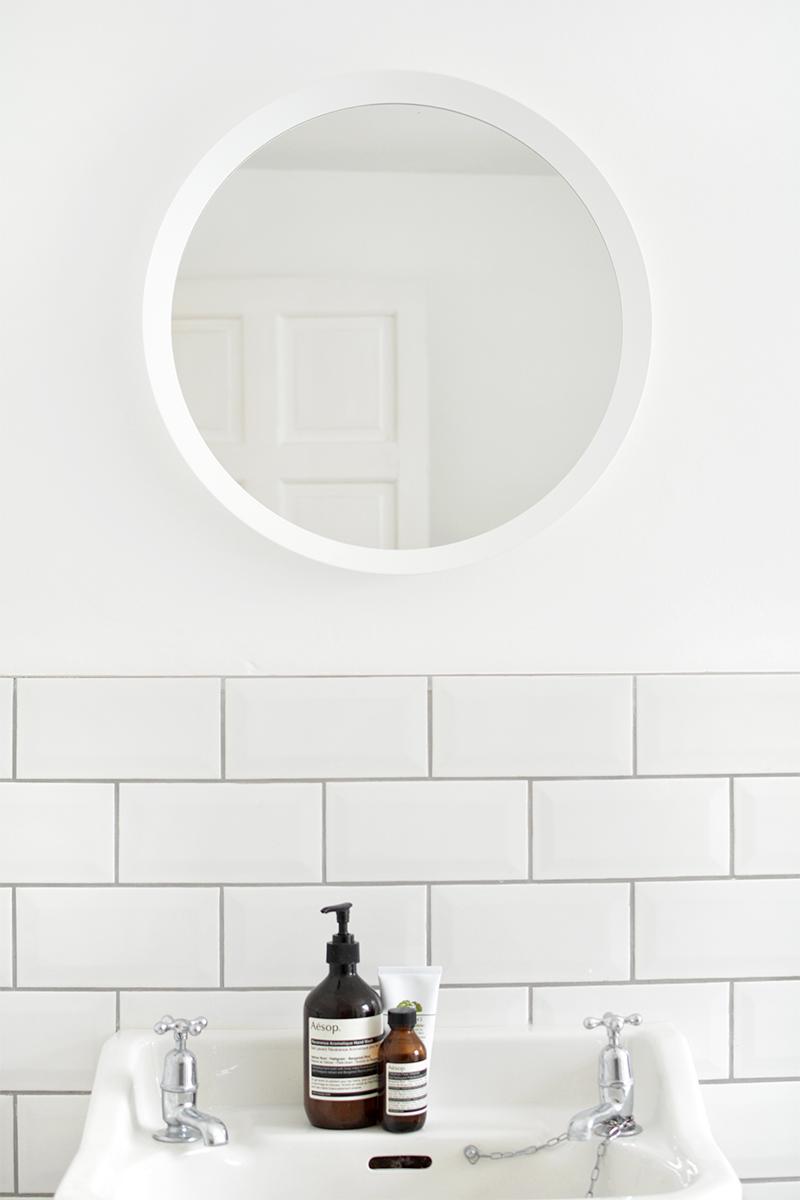 modern bathroom reveal | before + after | BURKATRON