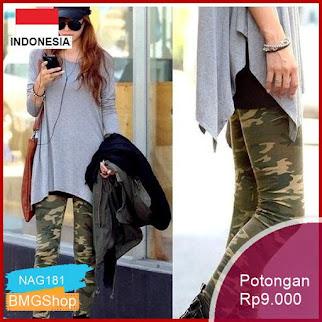 NAG181 Celana Panjang Legging Sexy Model Skinny Print Army Bmgshop