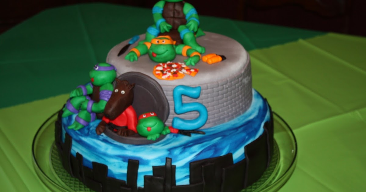 Sweet Melissa S Cakery Teenage Mutant Ninja Turtles