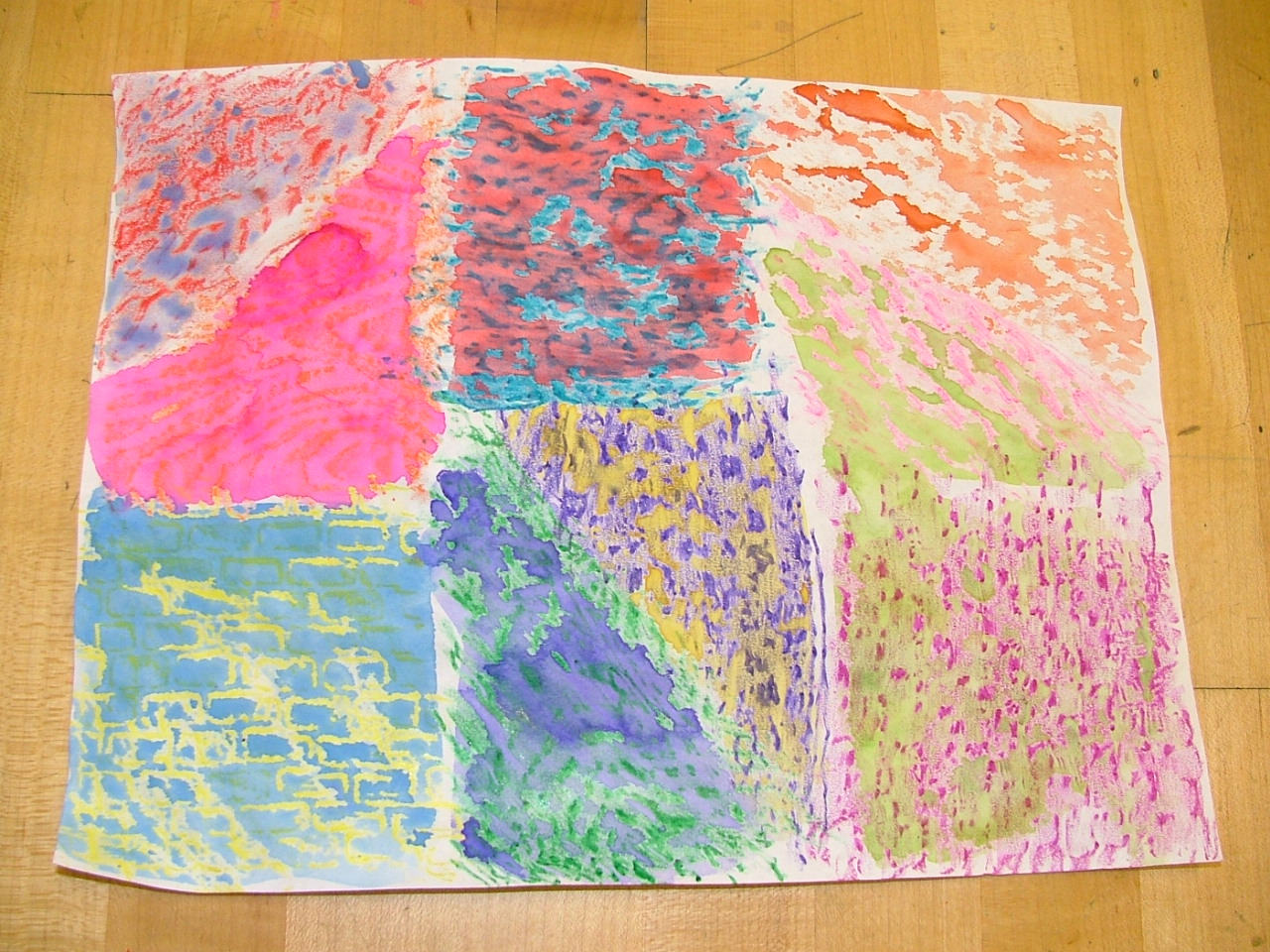 Art At Alcott Elementary 3rd And 4th Grade Square 1 Projects