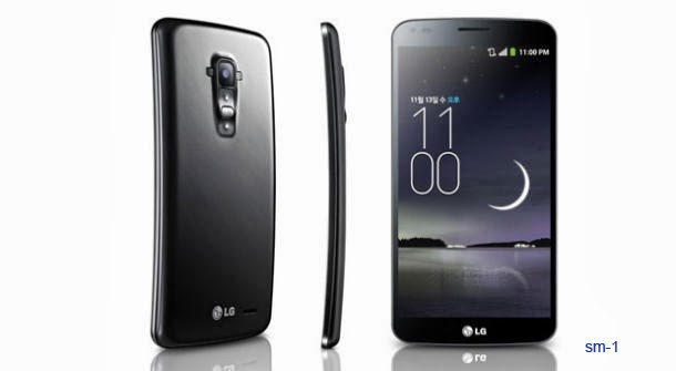LG G FLEX LG-F340 Real Round Curved