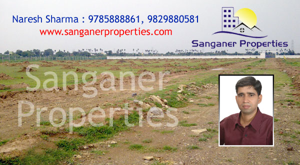 JDA Approved Commercial Land at Haldighati Road in Sanganer