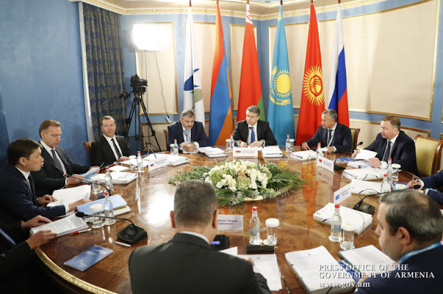 Ministros de la Unión Económica Euroasiática se reúnen en Ereván