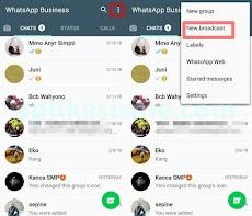 Cara Terbaru Kirim Pesan Broadcast Whatsapp di Android