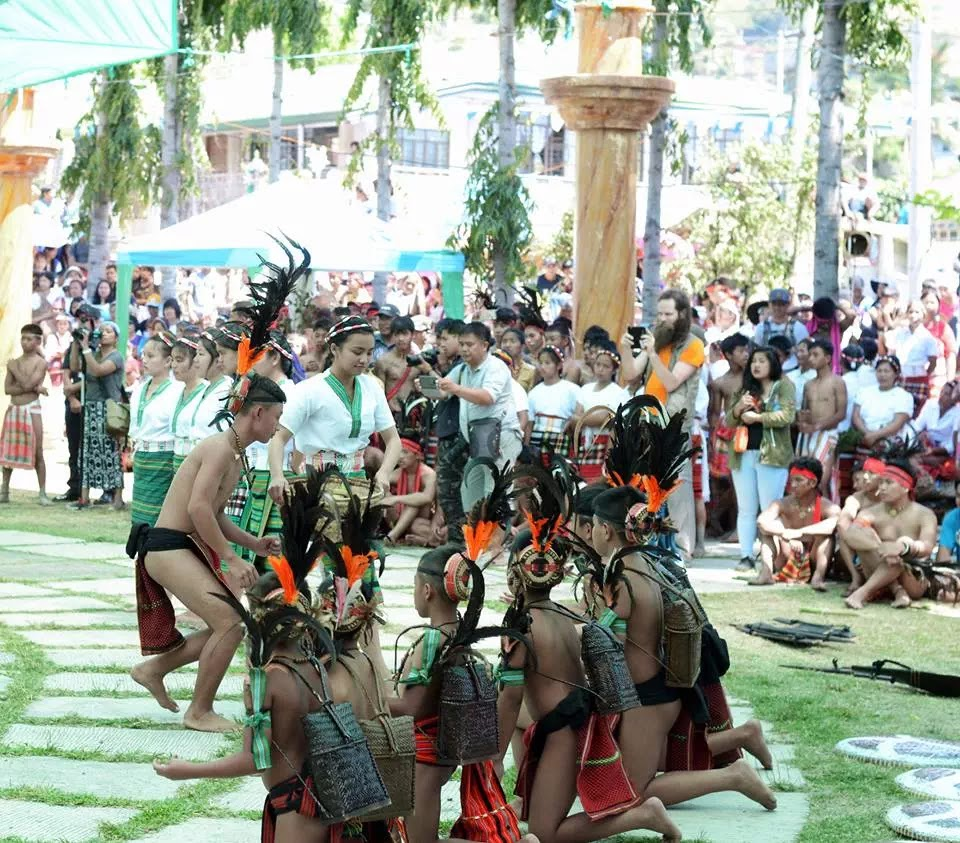 Ethno-Indigenous Confluence of Youth Cultural Presentation 13th Lang-Ay Festival Bontoc Mountain Province Cordillera Administrative Region Philippines