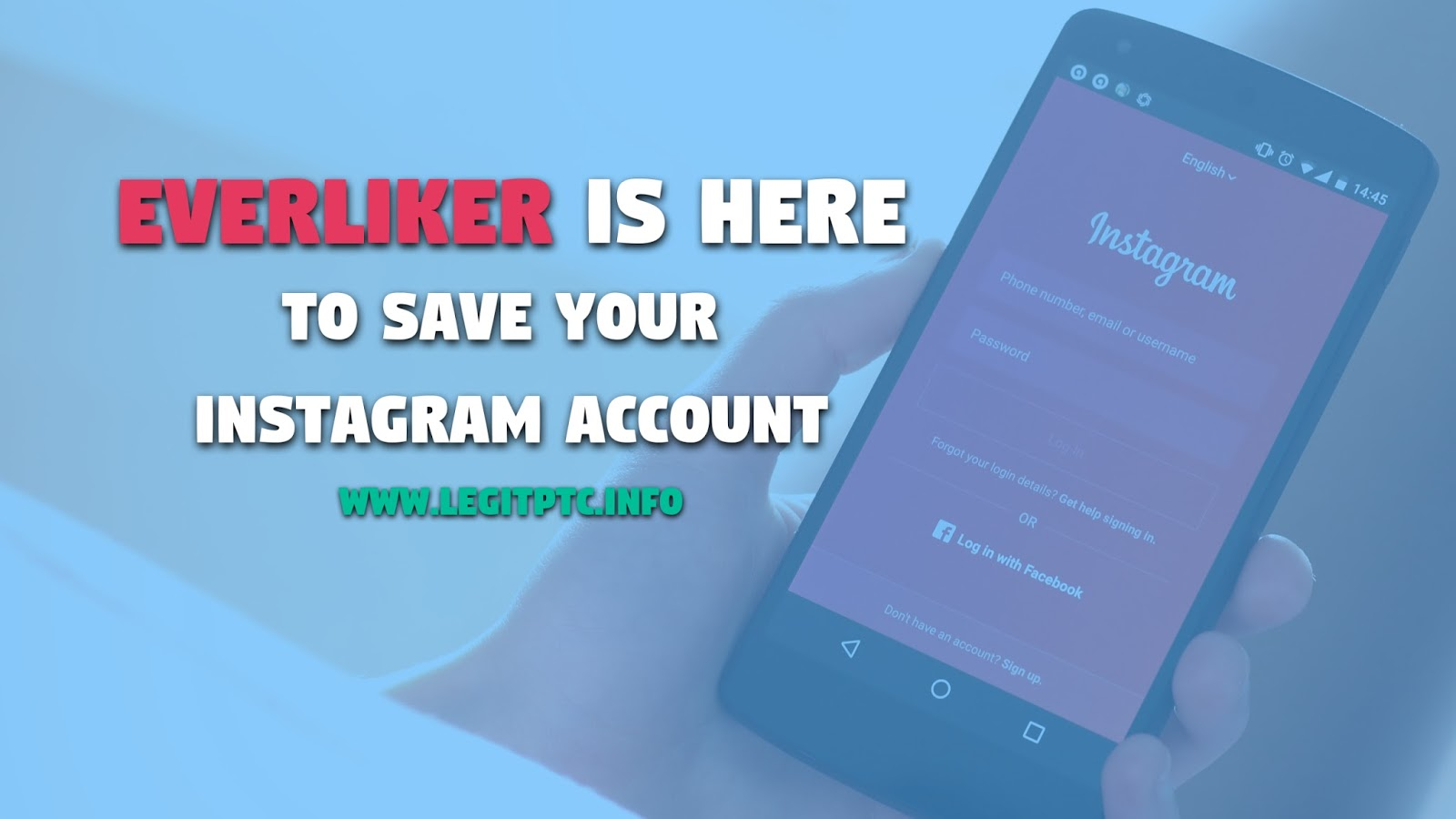 Bring your instagram account to new heights with Everliker | Legit PTC