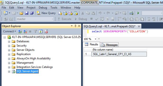 SQL Server Public Diary: Change SQL Server Collation without