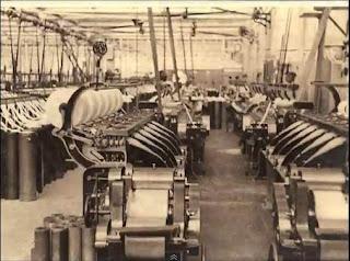 Fabrica textil de La Farga de Bebié a principios del XX
