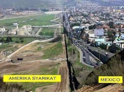 Amerika-Syarikat+Mexico-Border