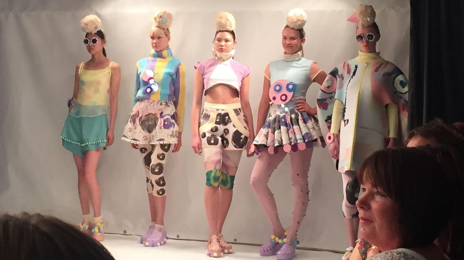 Solent Graduate Fashion Show 2015