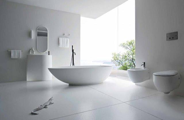 Perfect Concept Design All White Bathrooms Ideas White Modern Bathroom Design Ideas Bathtub Colour Paint White Designs Photograph Images