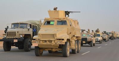 بيان رقم 5 للقوات المسلحة بشأن العملية سيناء 2018.. رصد وتدمير 60 هدفا للعناصر الإرهابية