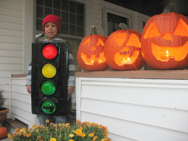 The Stop Light Costume