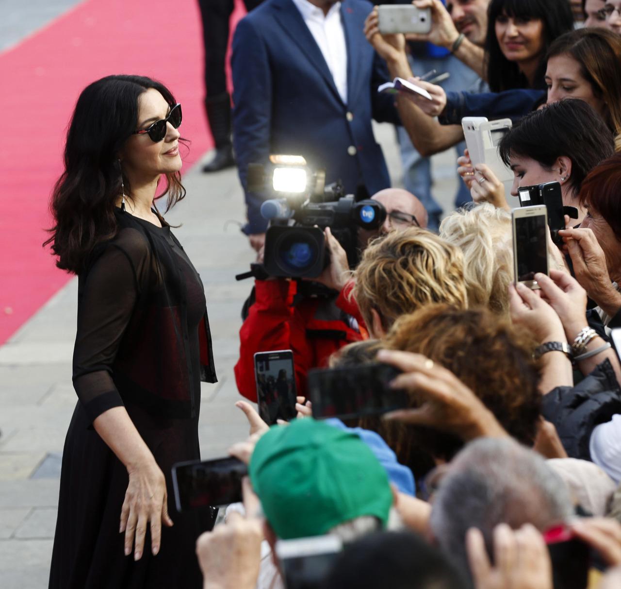 Full HQ Photos of Italian actress Monica Bellucci at 64th San Sebastian International Film Festival