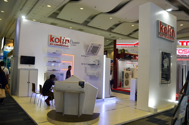 kolin air conditioner Trade Show Display