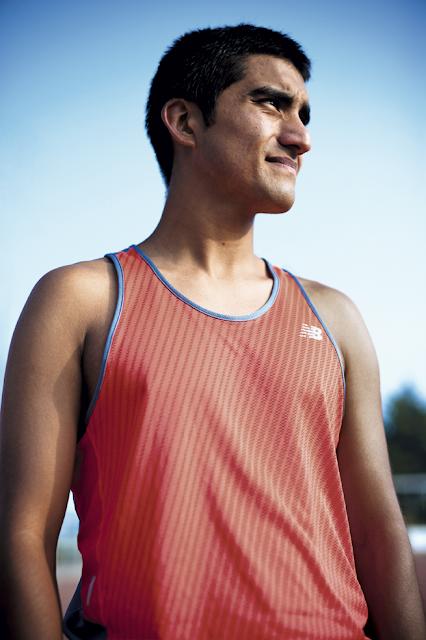 Diego Manzo triatleta sordo de Chile