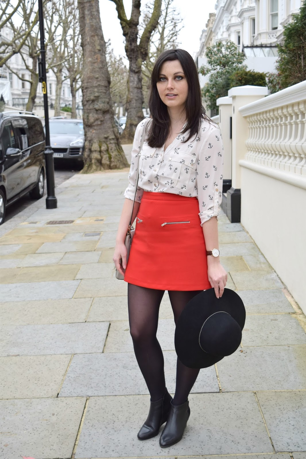 Kensington blogger fashion post