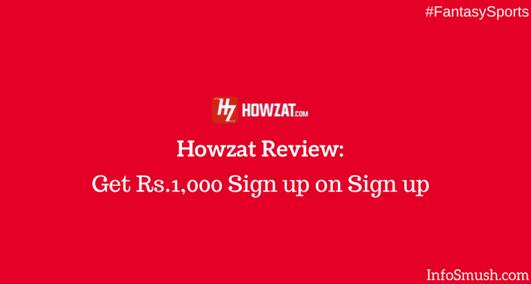 Howzat referral code: 9F1CF |