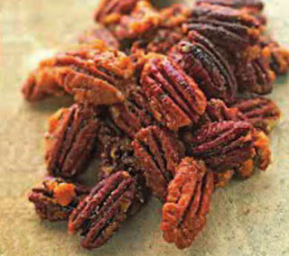 chile ginger candied pecans recipe