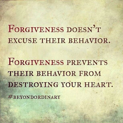 beautiful Quotes About Family: Forgiveness doesn't excuse their behavior.