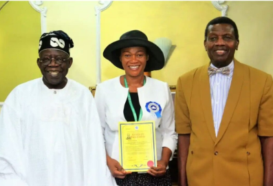 Wife of APC National leader, Senator Remi Tinubu, was ordained an Assistant Pastor in RCCG