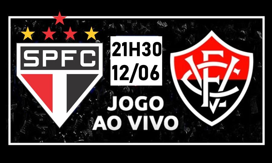 São Paulo x Vitória ao vivo HD pelo Campeonato Brasileiro 1