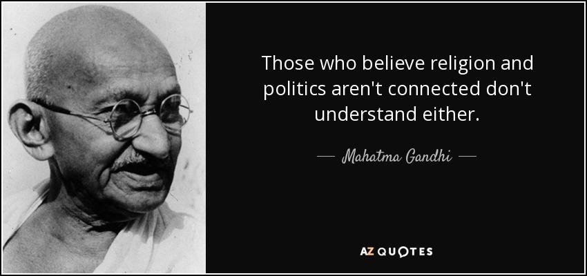 Citaten Politiek Luar Negeri : Selebar daun kelur : agama dan politik