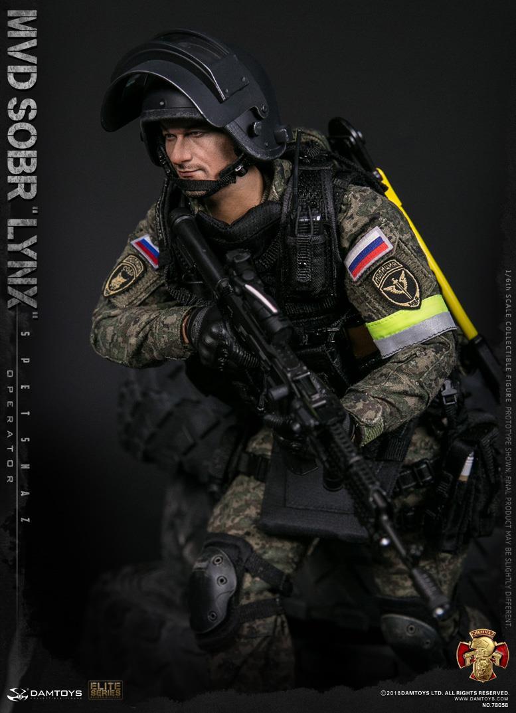 DAMTOYS RUSSIAN SPETSNAZ MVD SOBR LYNX 16