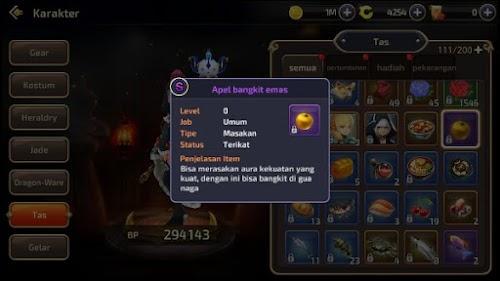 Cara Mendapatkan Apel Bangkit Emas Dragon Nest Mobile