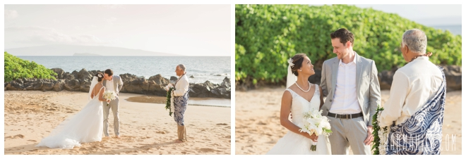Wailea Sunset Elopement Photographer