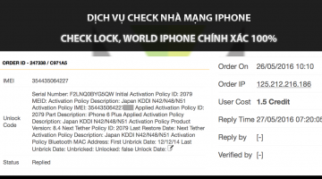 Check iPhone