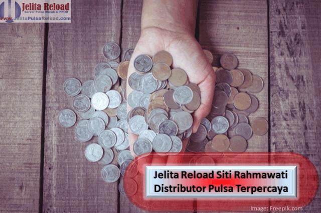 Jelita Reload Siti Rahmawati Distributor Pulsa Terpercaya