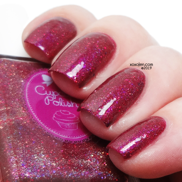 xoxoJen's swatch of Cupcake Thankful for Love
