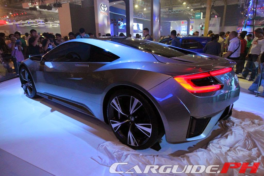 Finally, With The Much Anticipated (and Much Delayed) Return Of The All New  NSX Sports Car In 2015, Honda Cars Philippines Showed Off The Concept Car  That ...