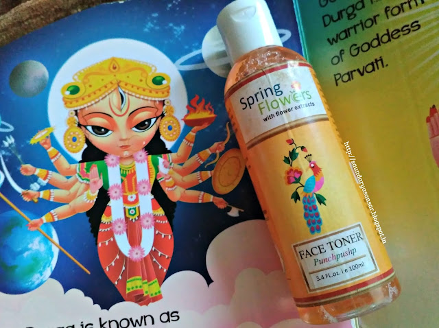 Spring Flowers Toner- Punchpushp Review