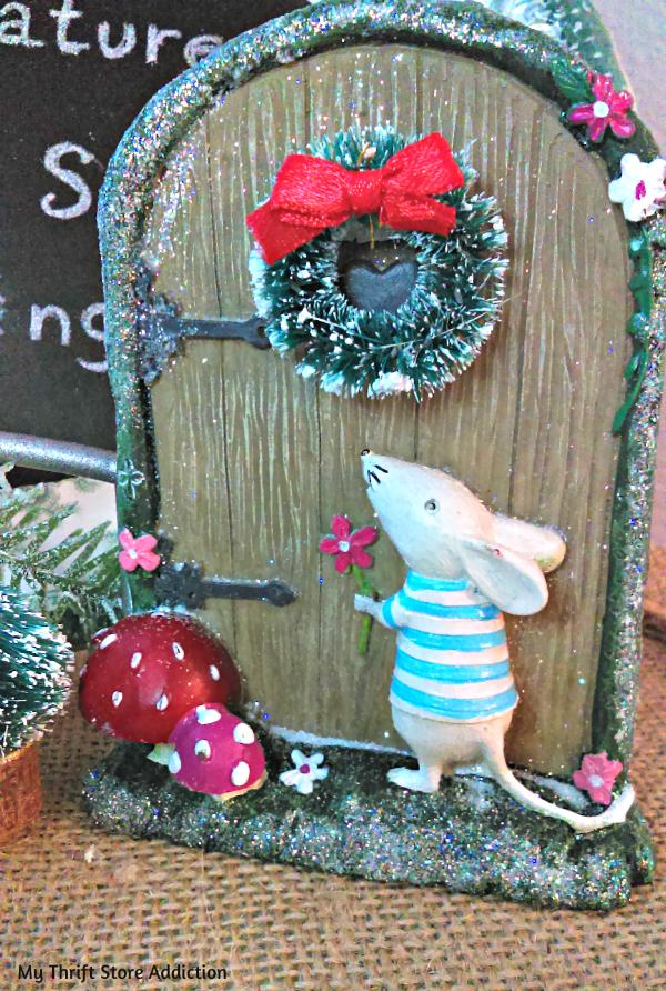Night Before Christmas Miniature Vignette