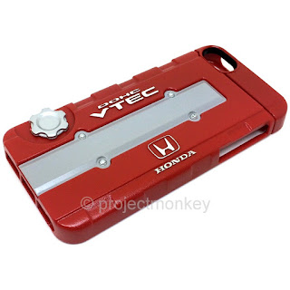 Honda B-Series Red Valve Cover Cell Phone Case JDM Licensed Fits: iPhone 5 / 5s