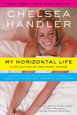 My Horizontal Life by Chelsea Handler - Book cover