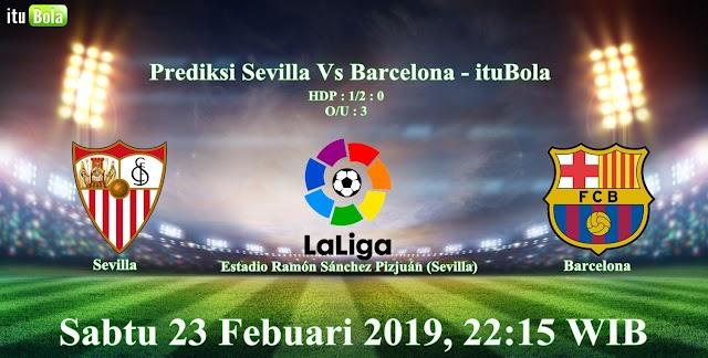 Prediksi Sevilla Vs Barcelona - ituBola