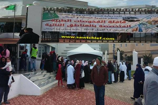 قافلة طبية لفائدة المرضى تجوب ببلدية سيدي عبد الرحمان