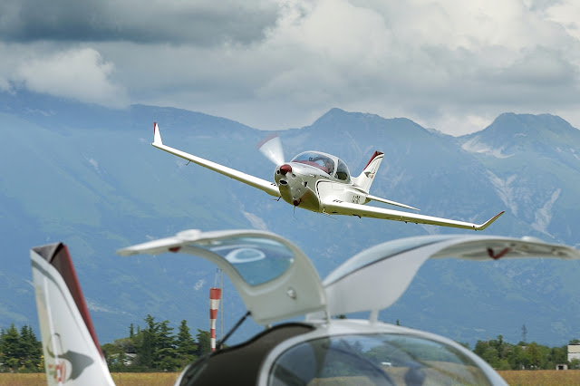 Alpi Pioneer 400 Low-Level Flight