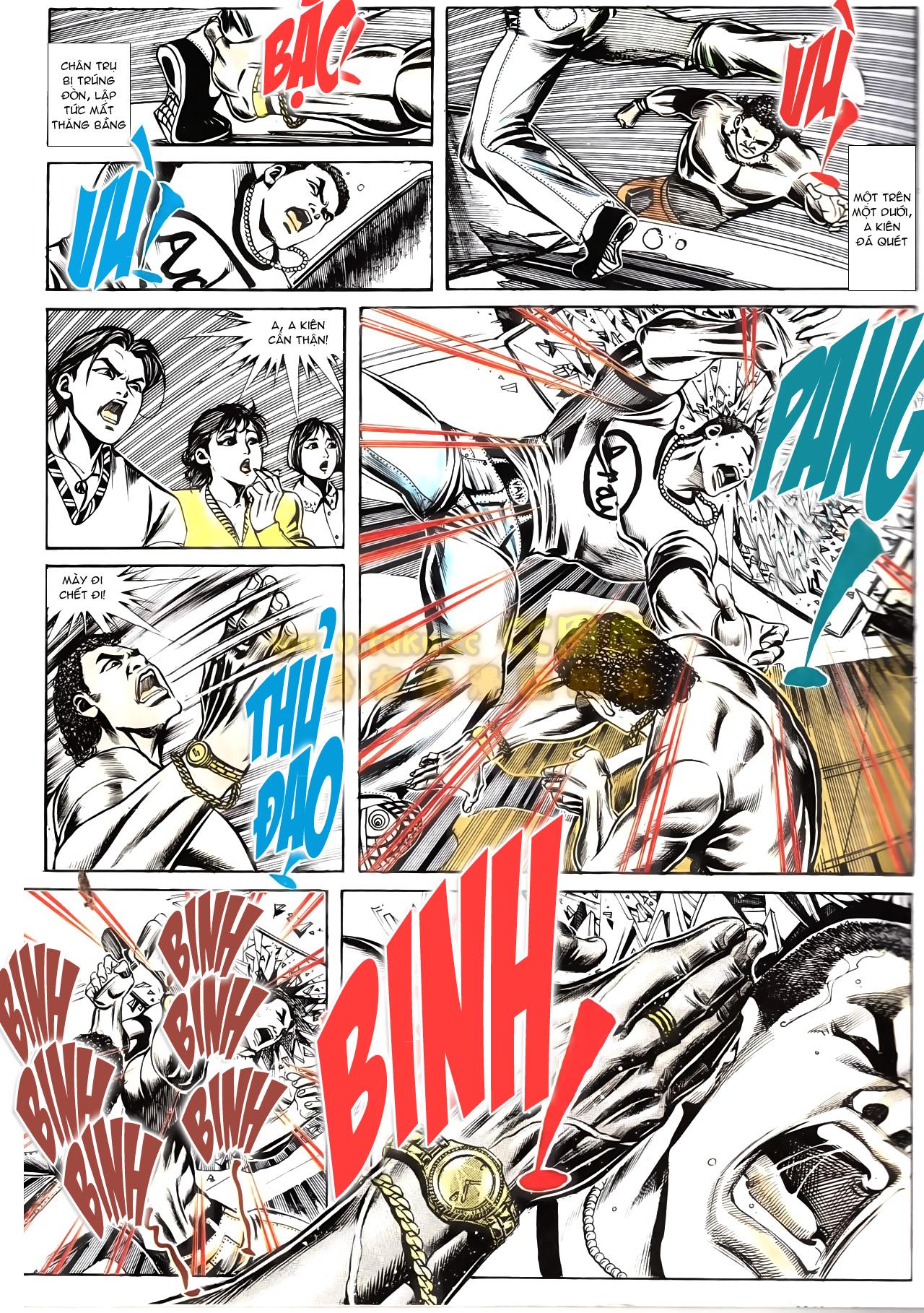 Người Trong Giang Hồ chapter 166: bùng nổ trang 26