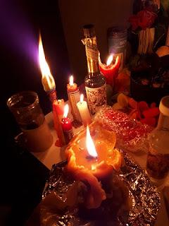 Ritual de pareja con endulzamiento