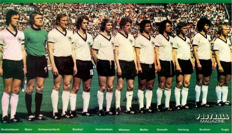 Resultado de imagem para seleção da alemanha 1974