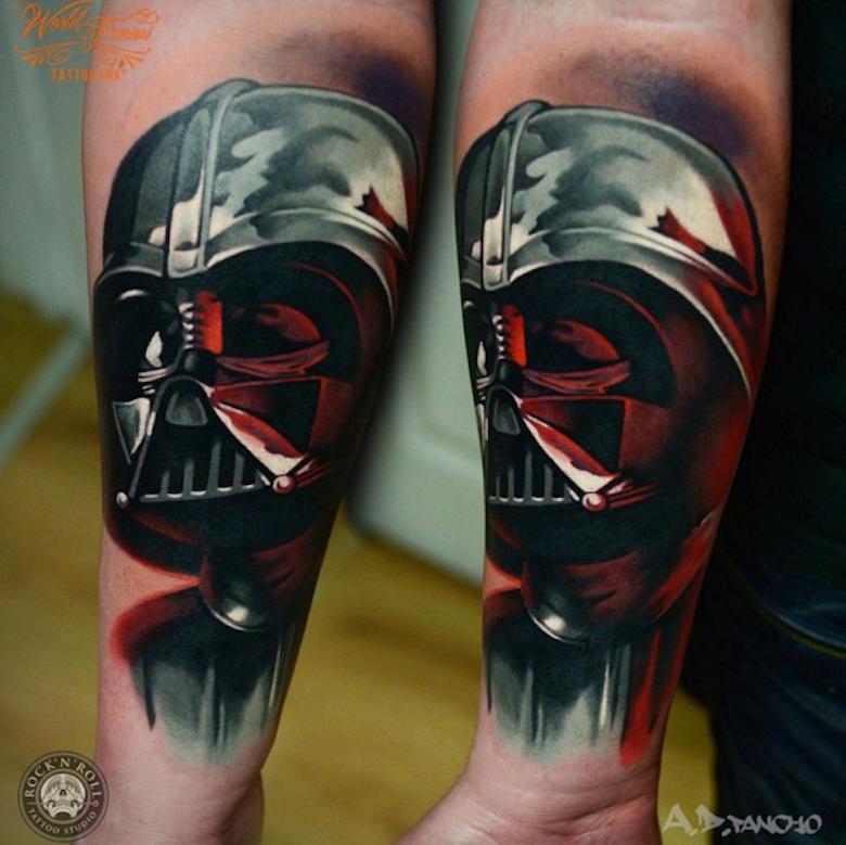 963ef3ec2d 43 Tatuagens inspiradas no universo Star Wars