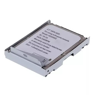 Super Thin Hard Disk HDD with Bracket 320GB for Playstation 3