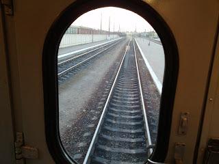 Поезд № 372 Львов-Могилёв