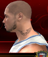 NBA 2K13 Neck Tattoo Mod - Skull